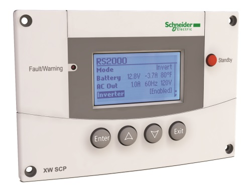 Schneider Electric XW System Control Panel