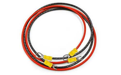 """#10-1X36""""R-B Controller to Battery Cable"""