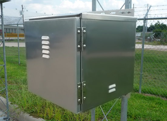 BBA-4 Aluminum Battery Enclosure