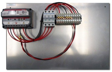 Prewired Backplate with PS-15M Controller