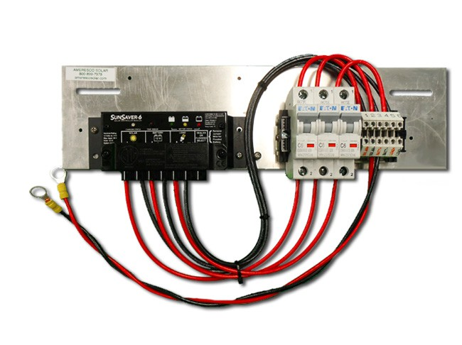 Prewired Backplate with SS-6-12V Controller