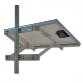 Adjustable Side of Pole Mount Kit for 1 Panel