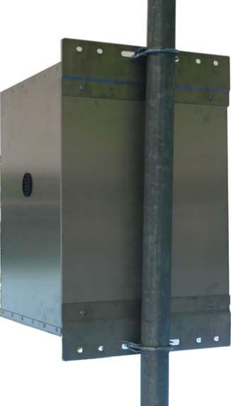 Mr. Solar® Value Line Aluminum Battery Box/Enclosure (VL-BB-1)
