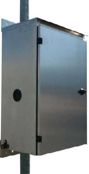 Mr. Solar® Value Line Powder Coated Aluminum Battery Box/Enclosure (VL-BB-1-PC)