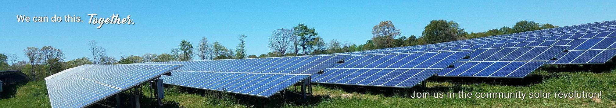 Join us in the community solar revolution!