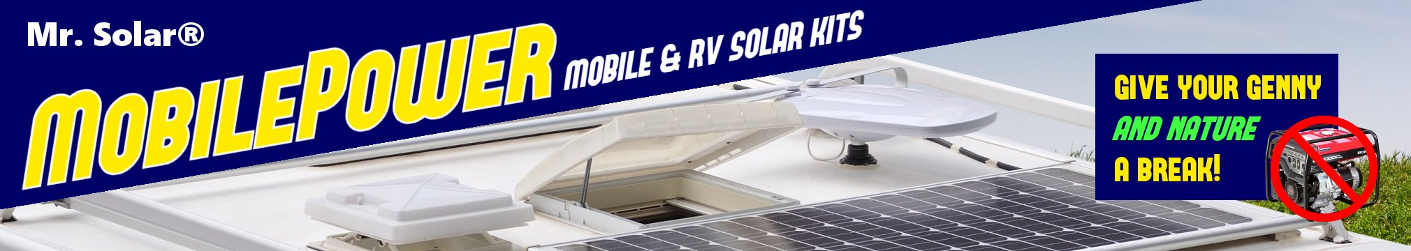 Mr. Solar® is your RV solar headquarters!