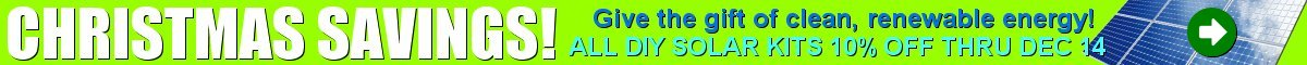 Mr. Solar® is your DIY solar kit headquarters! All DIY solar panel kits ON SALE NOW!