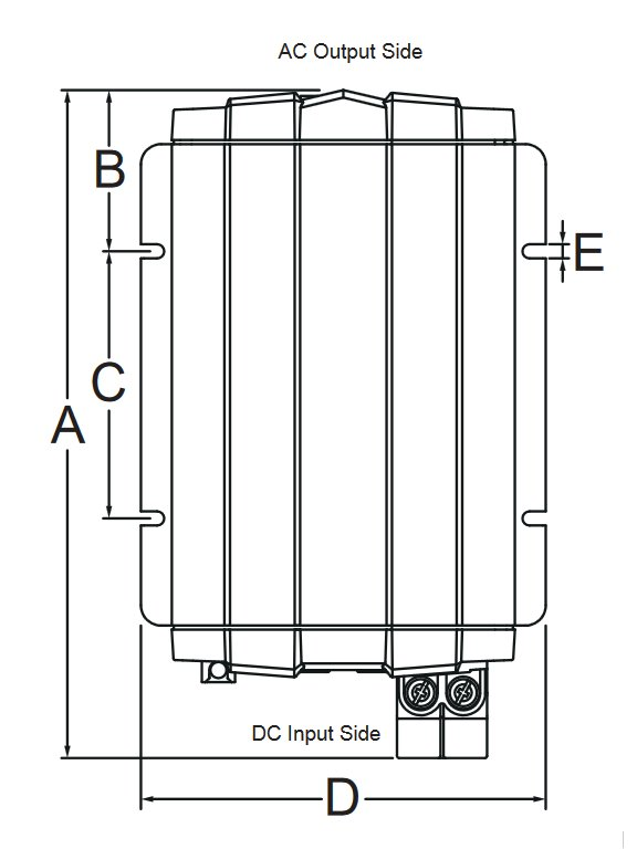 GP-ISW700 PSW Inverter Diagram