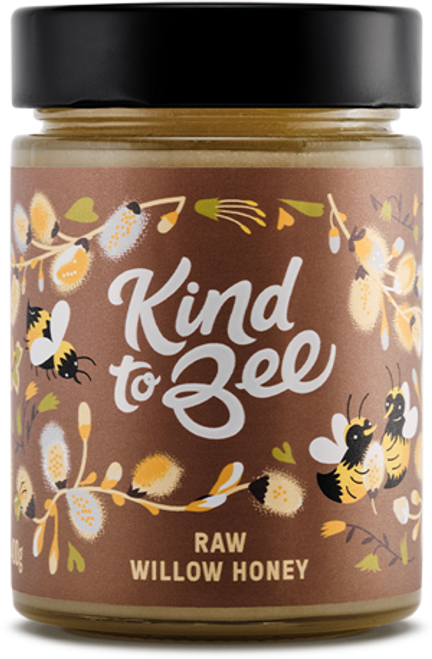 RAW WILLOW HONEY