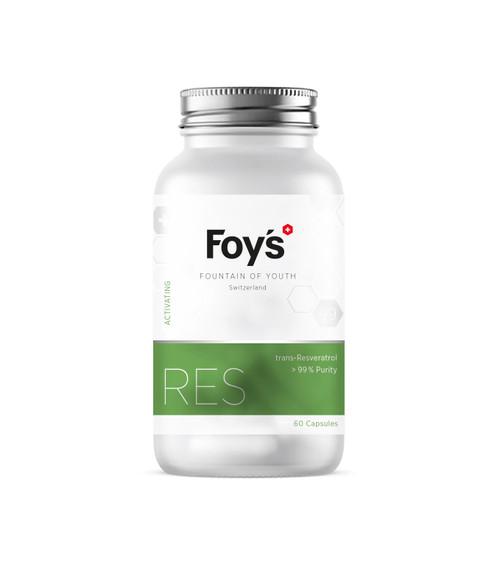 Foy's Resveratrol 60x500mg | Activating Longevity Supplement