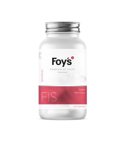 Foy's Fisetin 60x500mg | Supporting Longevity Supplement