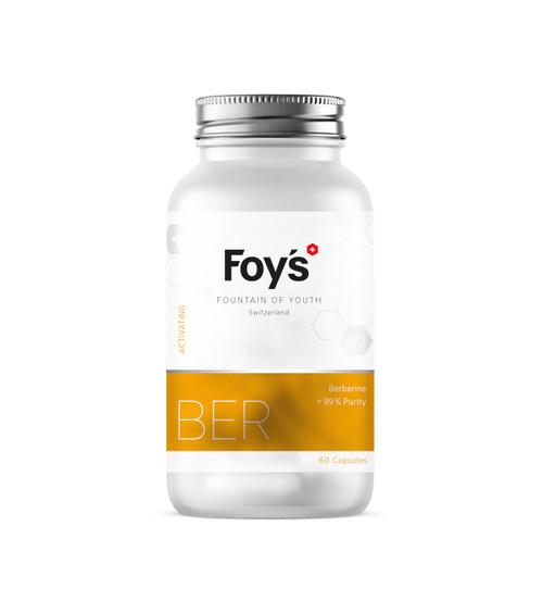 Foy's Berberine 60x500mg | Supporting Longevity Supplement