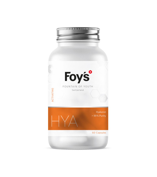 Foy's Hyaluron 60x250mg | Supporting Longevity Supplement