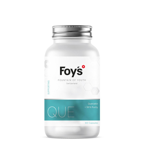 Foy's Quercetin 60x250mg | Activating Longevity Supplement