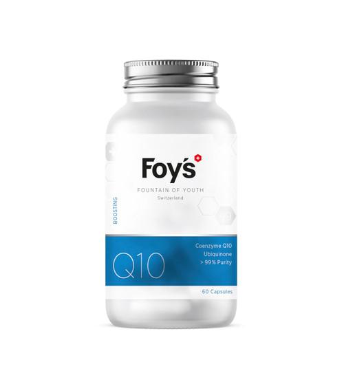 Foy's Coenzyme Q10 (Ubiquinone) 60x100mg | Boosting Longevity Supplement