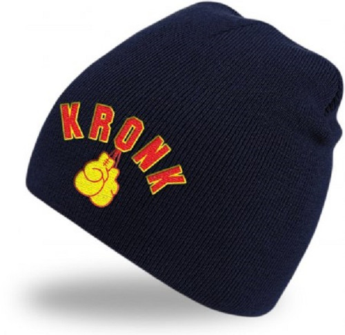 KRONK Gloves Beanie Hat Navy
