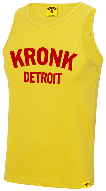 KRONK Detroit Training Vest Yellow