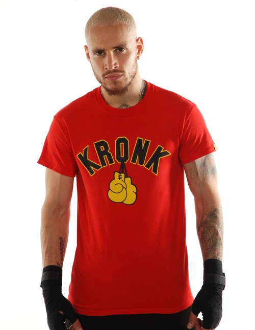 KRONK Gloves T Shirt Red