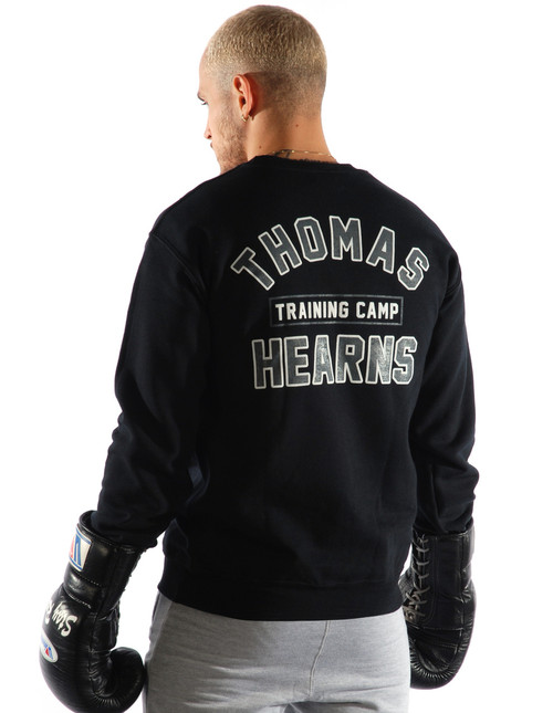Kronk Thomas Hearns Training Camp Regular Fit Sweatshirt Black