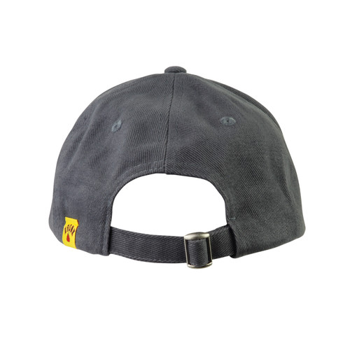KRONK Detroit Cotton Baseball Cap Graphite Grey