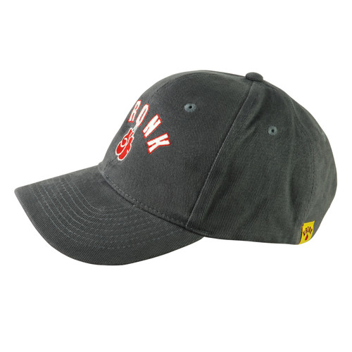 KRONK Gloves Cotton Baseball Cap Charcoal