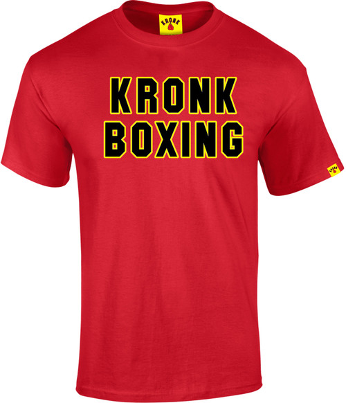 KRONK Boxing Classic T Shirt Red