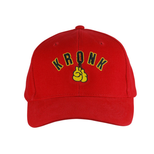 KRONK Gloves Cotton Baseball Cap Red
