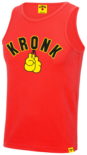 KRONK Gloves Training Vest Red