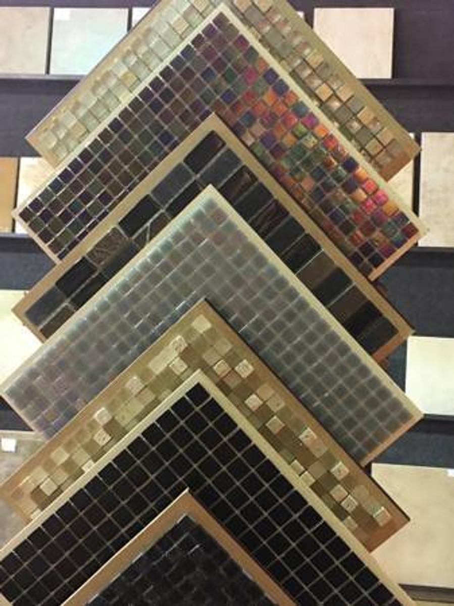 Glass Mosaic Tile Boneyard Closeout Tiles