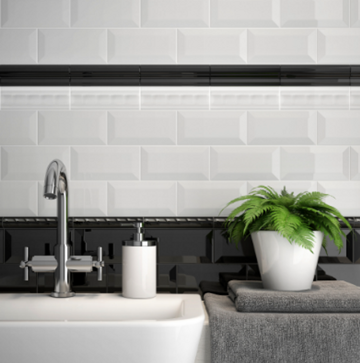 Decorative Ceramic Wall Tile Accents