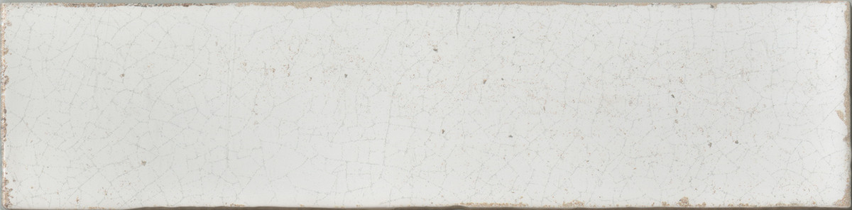 "Manzanita Gloss White Crackled 3""x12"""