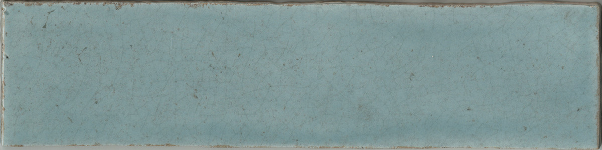 """Manzanita Gloss Aqua Crackled 3""""x12"""""""