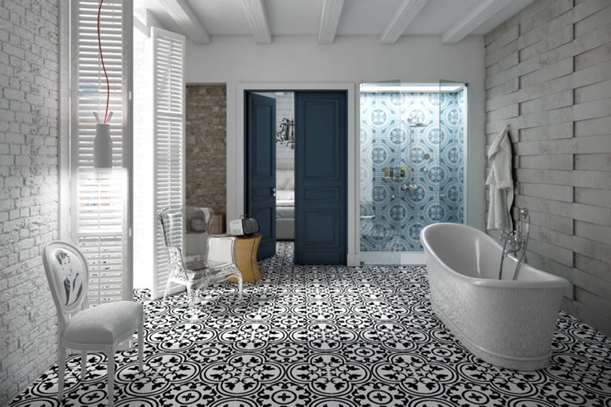 Eclectic Porcelain Tile Collection