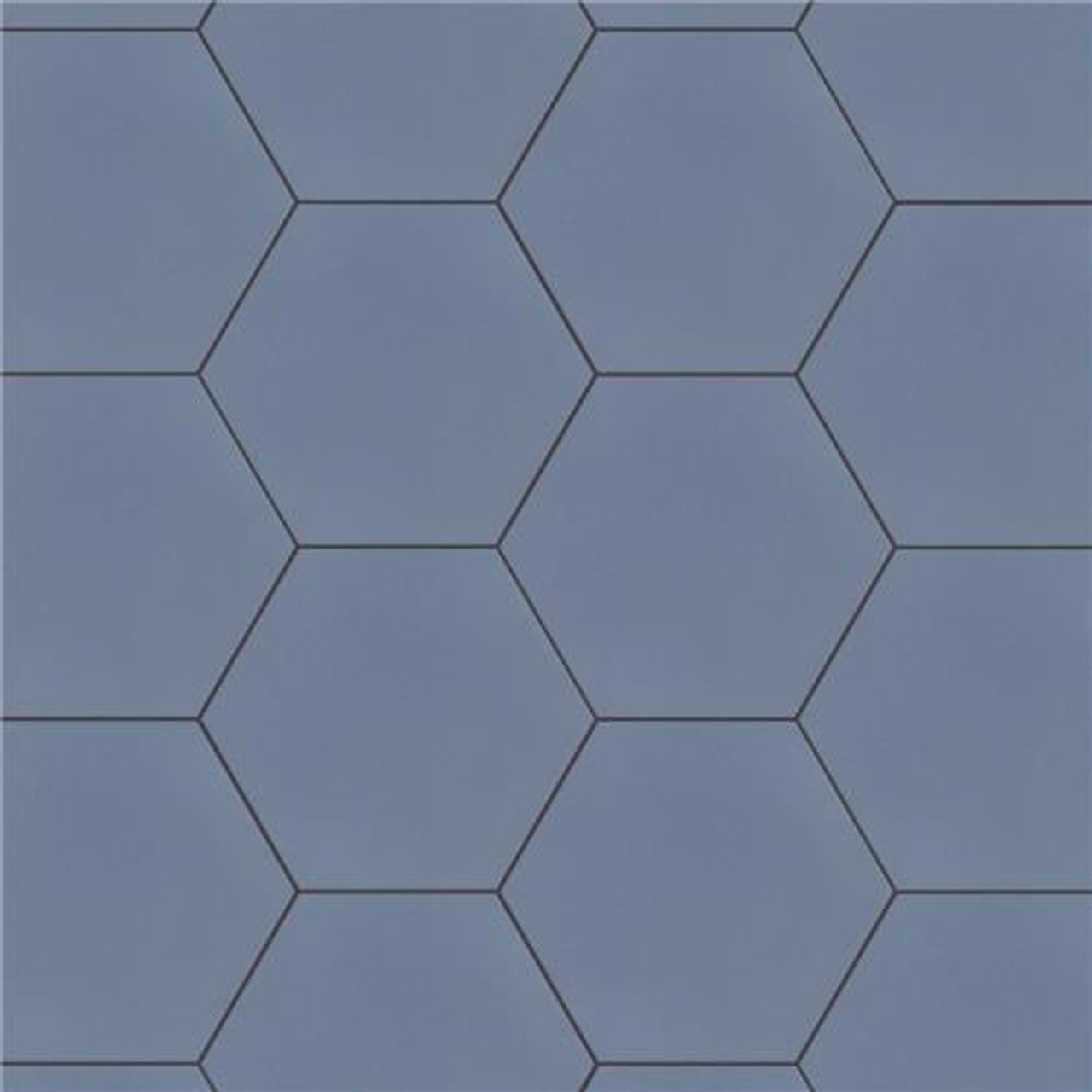 Chromatic Hexagon Tile Collection