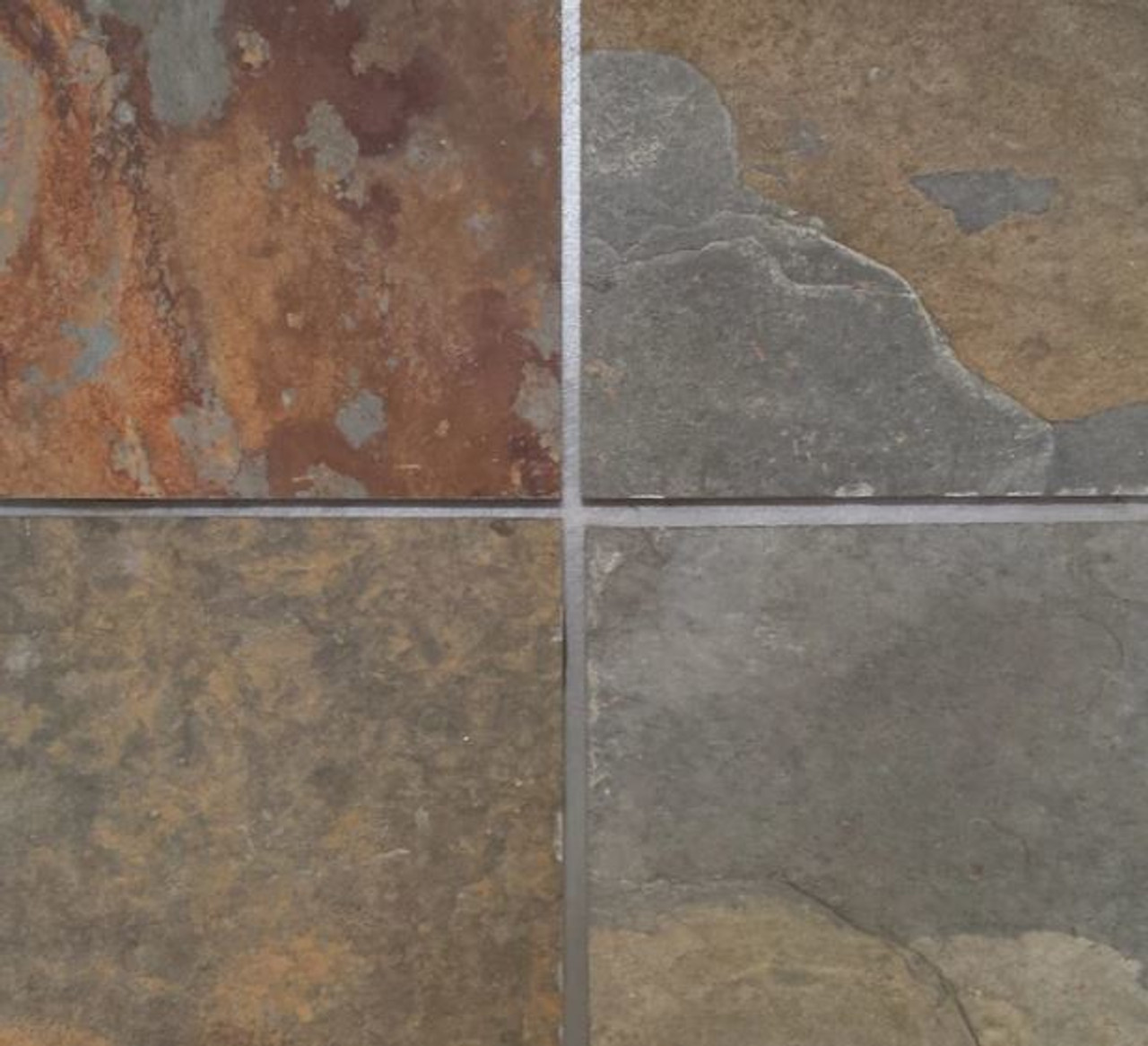 SL-02 Multi-Color Slate Tiles