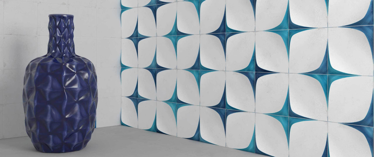 BLANC ET BLEU Tile Collection