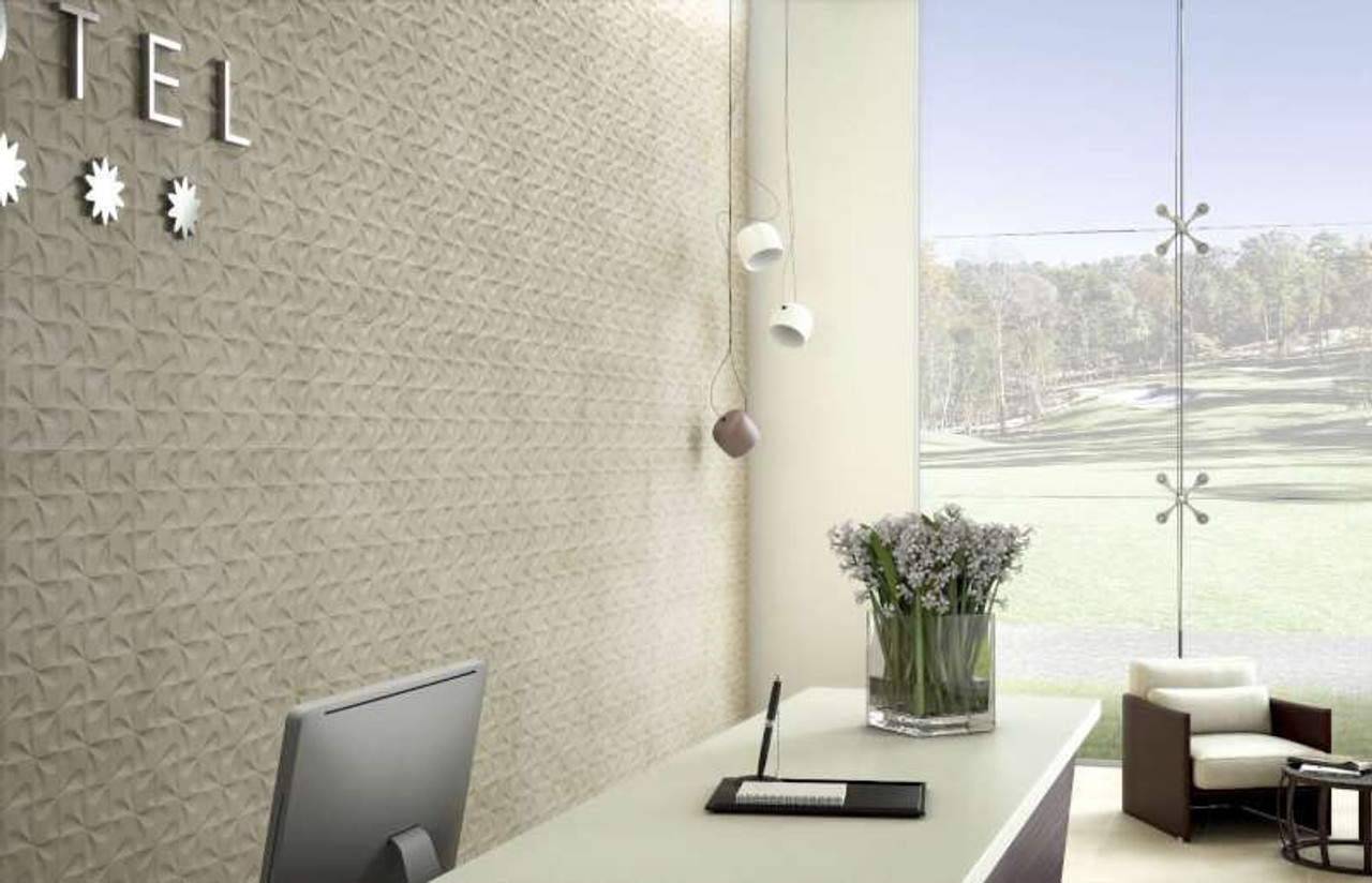 Lithos Floor and 3D Wall Tile Porcelain