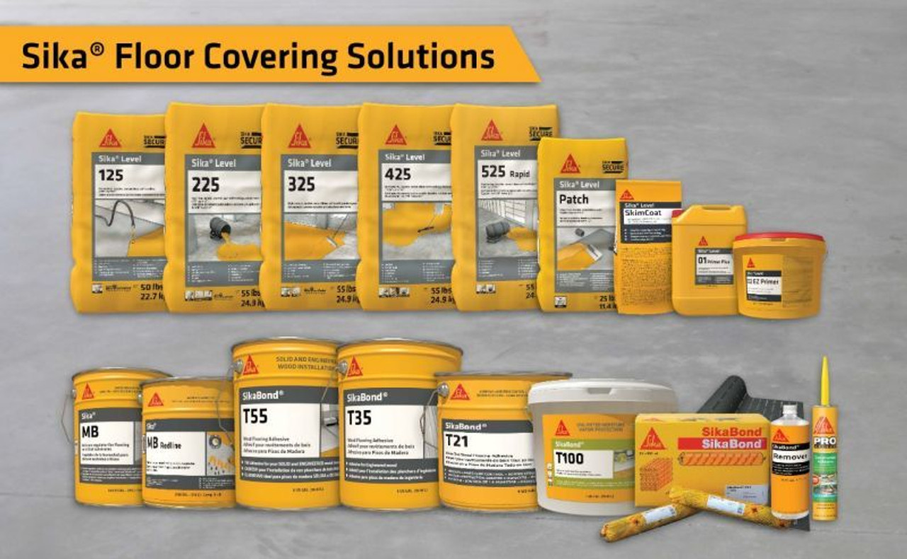 Sika Flooring Primers & Moisture Barriers
