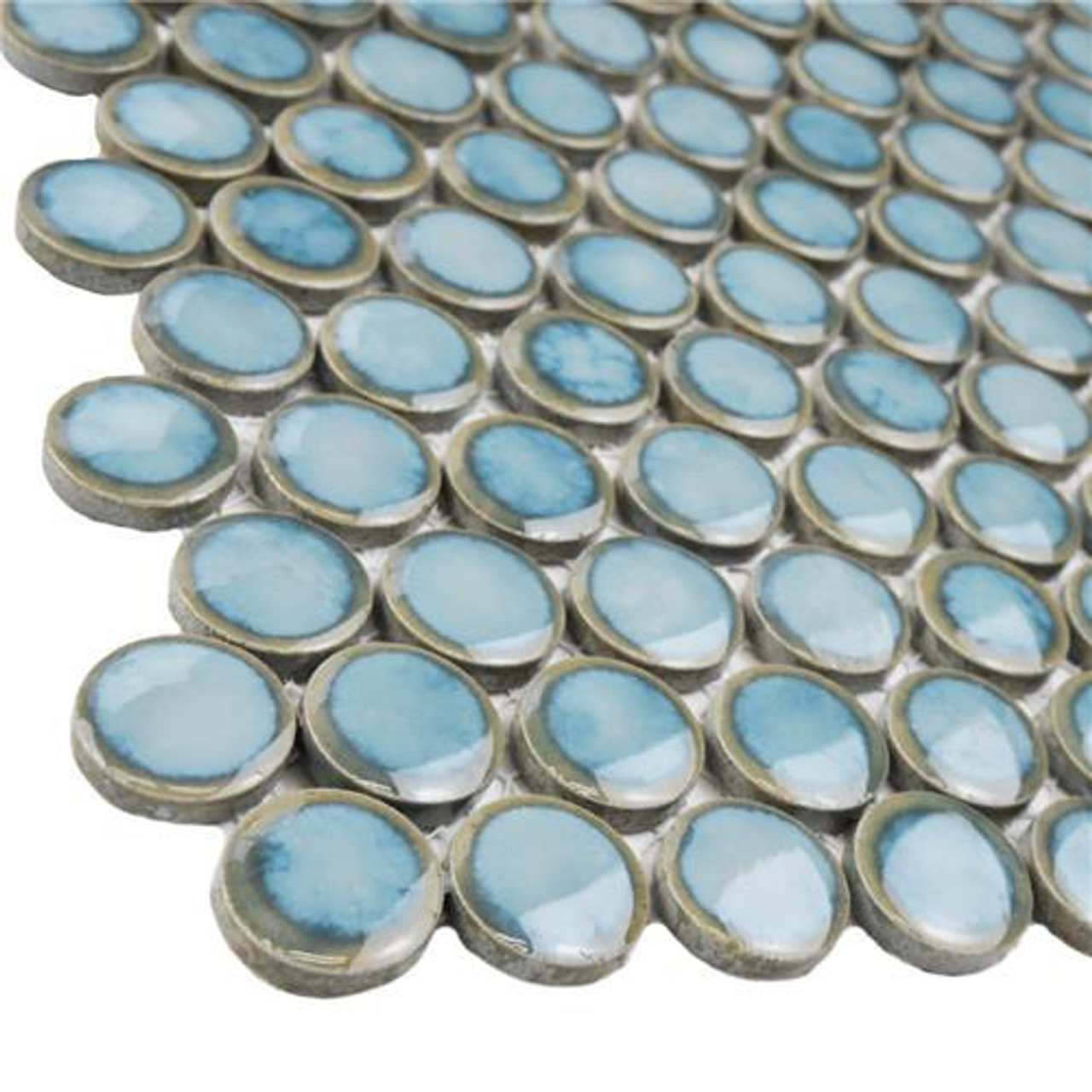 Ceramic Pennyround Mosaic Tiles