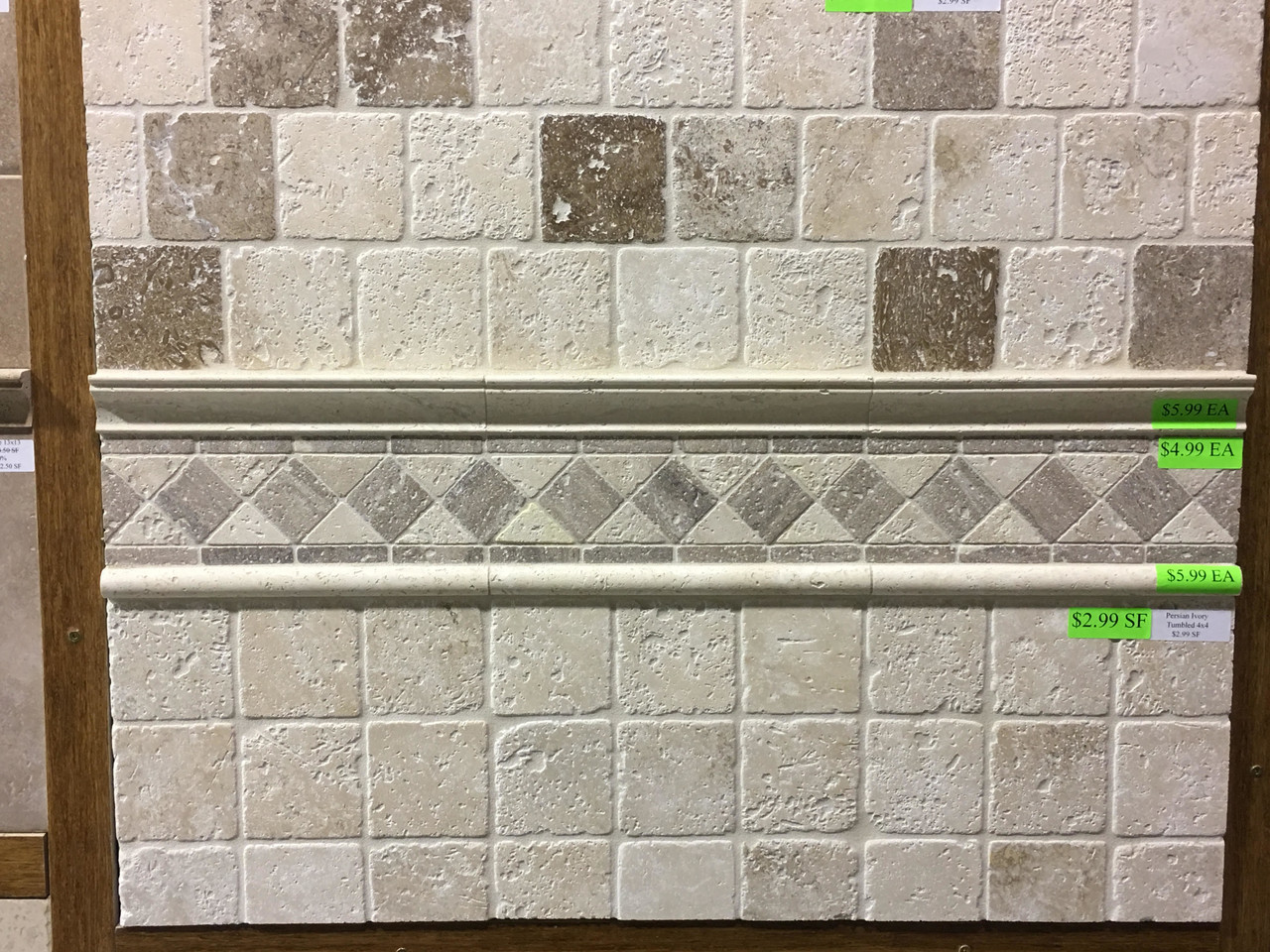 Travertine Closeout Tiles