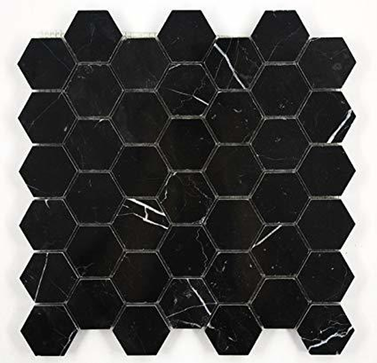 Marquina Dark Marble Tiles