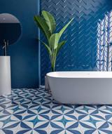 BLANC ET BLUE Tile Collection