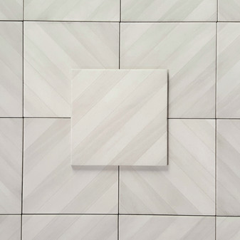 Essential White 8x8 Labyrinth