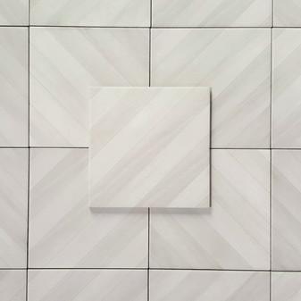Essential White 8x8 Labyrinth