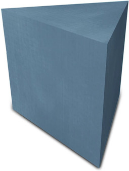 "Wedi 23"" x 23"" Triangle Shower Bench"