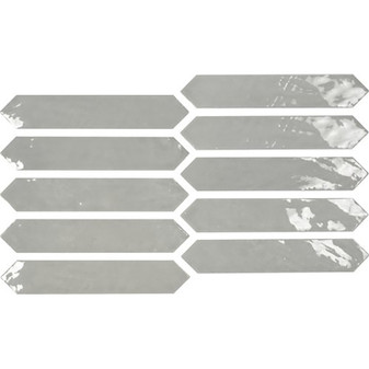 Switch 2×10 Picket Tile – Grey Gloss