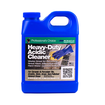 MIRACLE SEALANTS Heavy-Duty Acidic Cleaner
