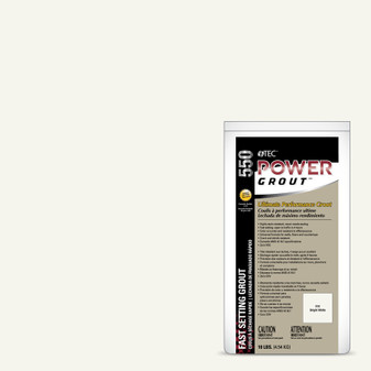 Tec Power Grout Bright White