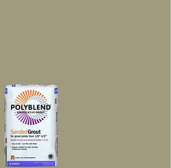 Polyblend #145 Light Smoke 25 lb. Sanded Grout