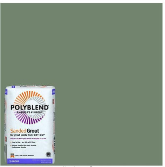 Polyblend #09 Natural Gray 25 lb. Sanded Grout